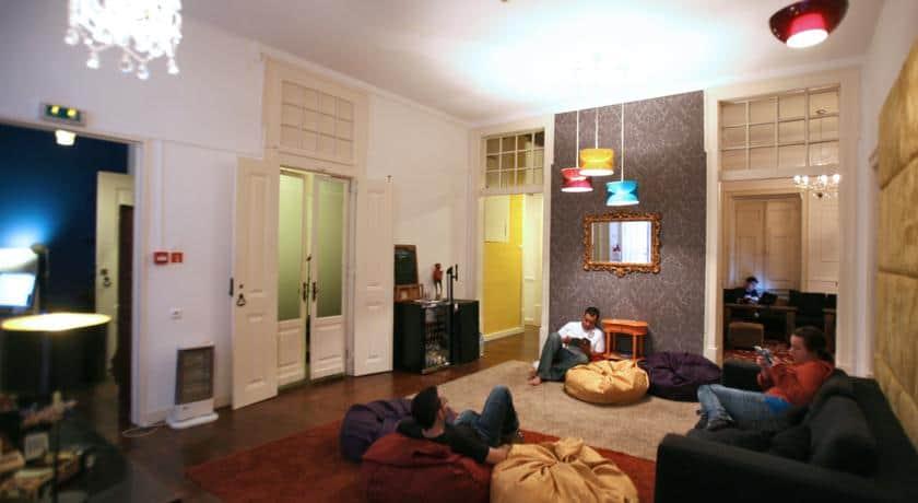 Sala comum na Travellers House