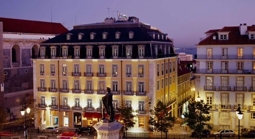 Fachada do Bairro Alto Hotel