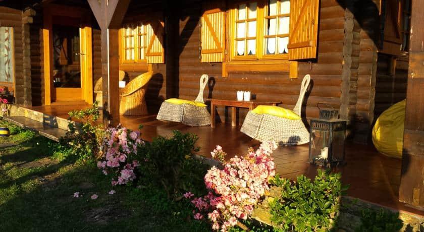 casa de madeira de lanhelas