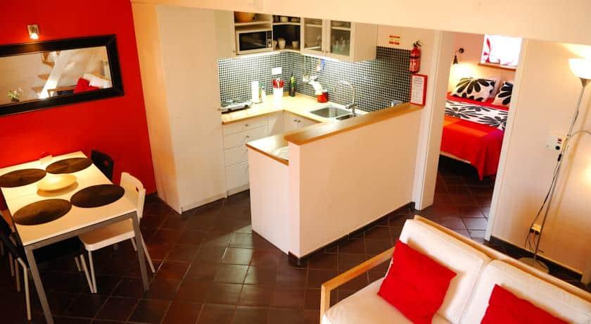 Pormenor de apartamento na Casa Vicentina