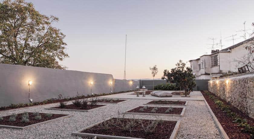 Casas da Alta de Coimbra - terraço