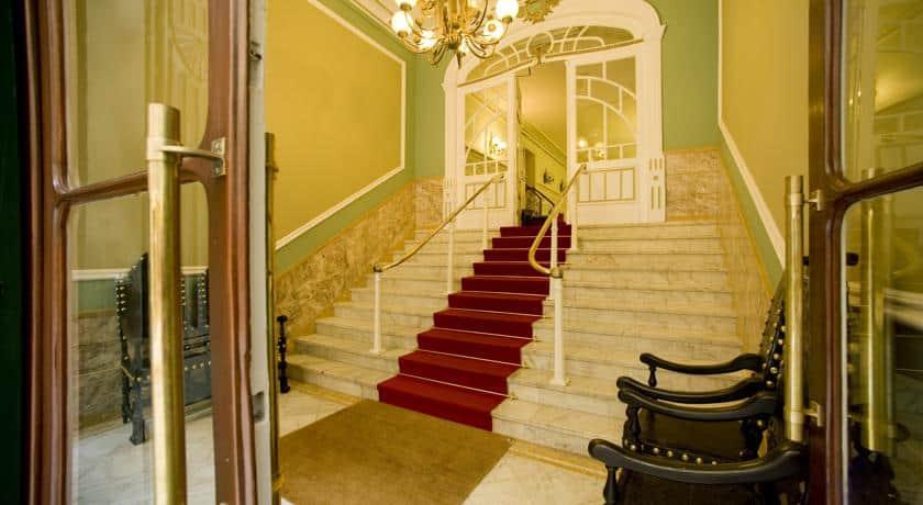 Recepção no Grande Hotel de Paris