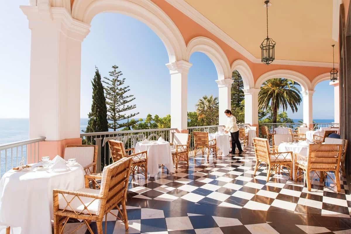 Melhor hotel de luxo da Madeira: Belmond Reid's Palace
