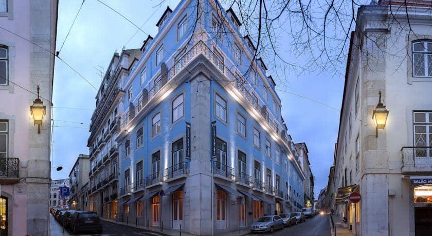 Edifício do Lisboa Carmo Hotel