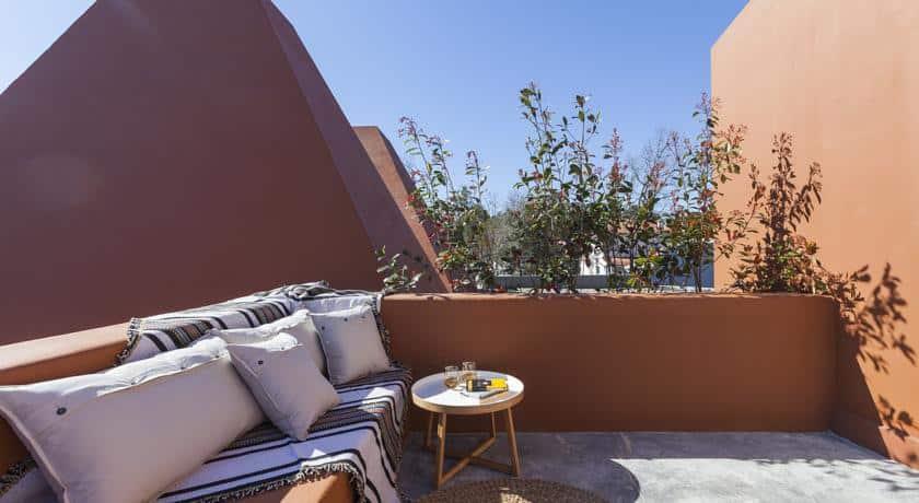 Luz Charming Houses - terraço