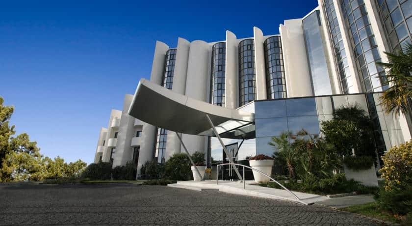 Fachada exterior do Montebelo Viseu Hotel&Spa
