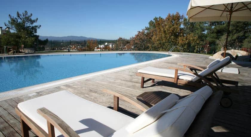 Piscina no Montebelo Viseu Hotel&Spa