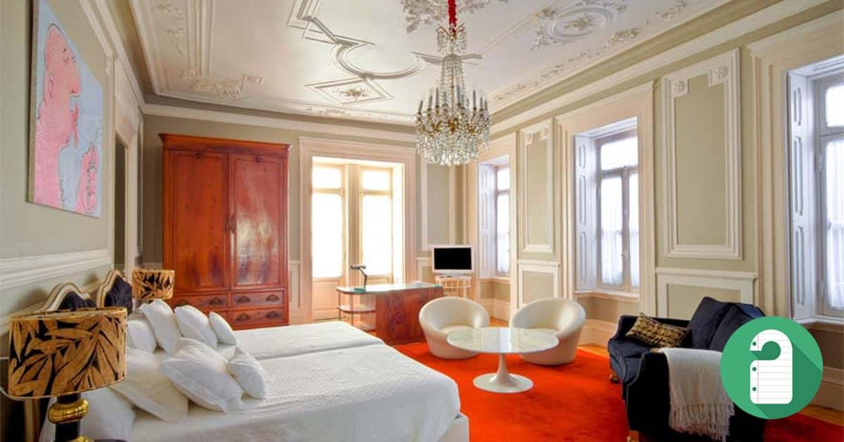 Os melhores hot is de charme de portugal hotelandia for Design hotel daniel campanella