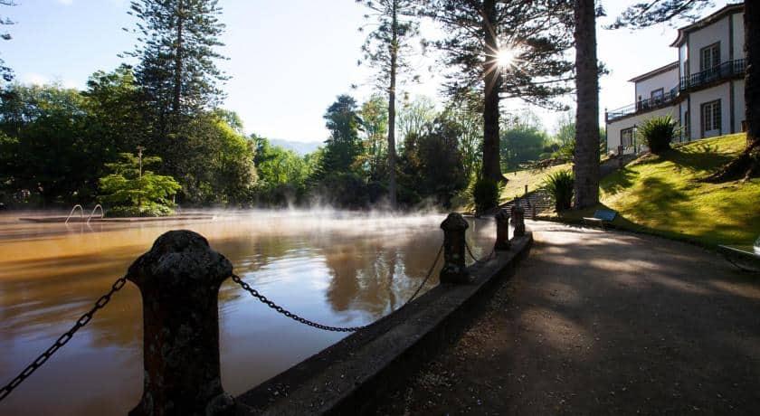 Terra Nostra Garden Hotel - Tanque Água Termal