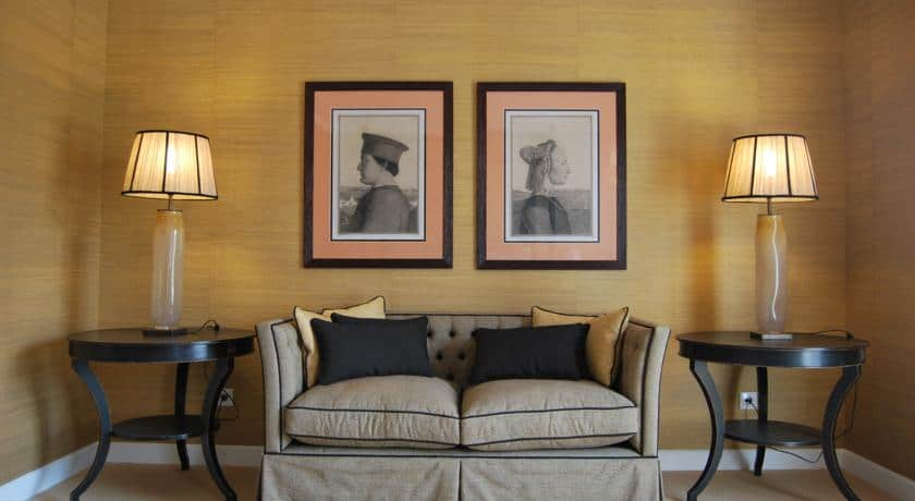 Pormenor de uma suite