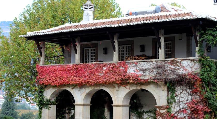 Fachada da Quinta da Pacheca